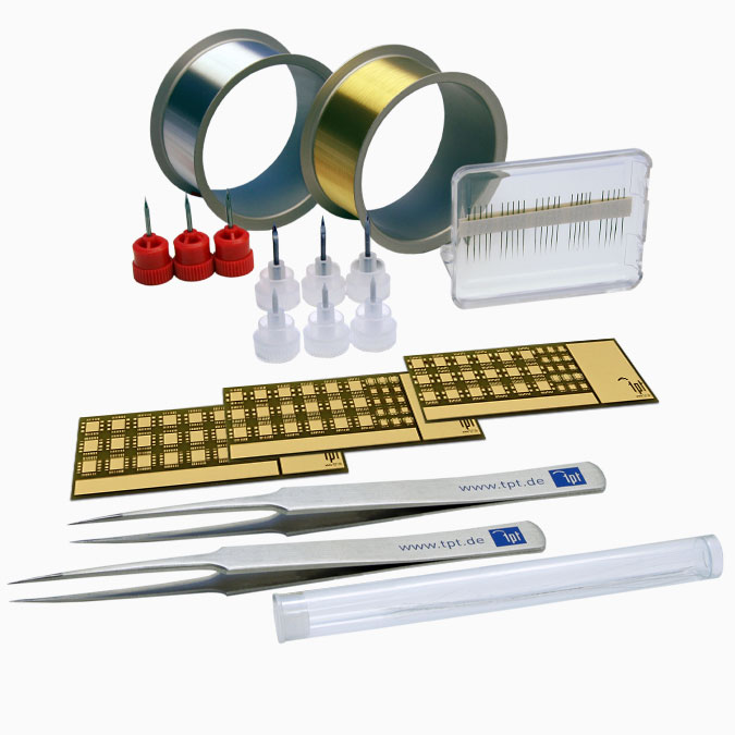 TPT Wire Bonder - Wire Bonder - Drahtbonder Bonddrähte und Bondwerkzeuge - Bond Wire and Bond Tools - H69-1 Starter Kit Wedge & Ball Bonder
