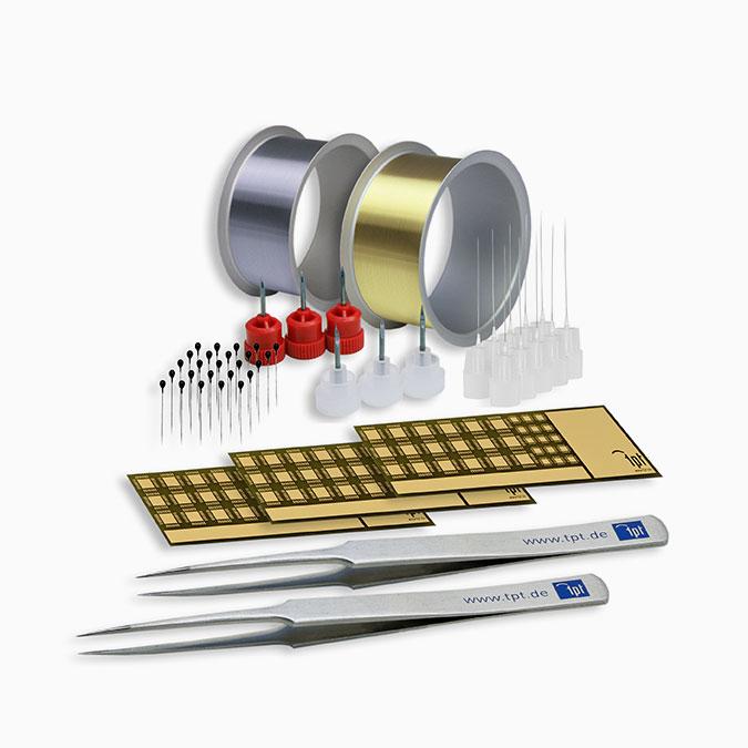TPT Wire Bonder - Wire Bonder - Drahtbonder Bonddrähte und Bondwerkzeuge - Bond Wire and Bond Tools - H69-3 Starter Kit Wedge Bonder