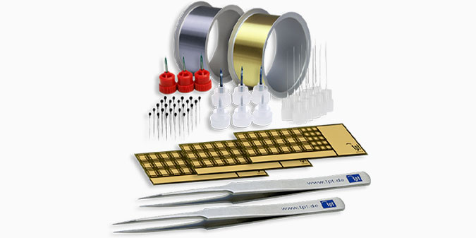 TPT Wire Bonder - Wire Bonder - Drahtbonder - Die Bonder Bondwerkzeuge Drähte Bonding Wire Tools